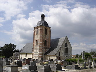 Campigny, Eure - The church in Campigny