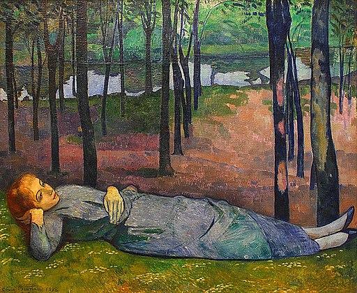 Émile Bernard Madeleine au Bois d'Amour 1888