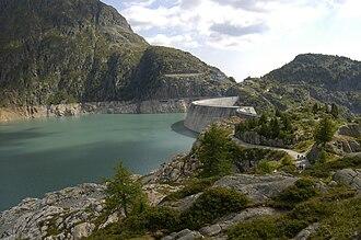 Lac d'Émosson - Image: Émosson 1