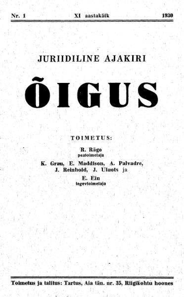 File:Õigus 1930-1.djvu