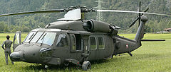 Sikorsky S-70A-42 Black Hawk '6M-BH' of 'Flight Regiment 1'