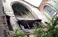 Żabia Ścieżka ruiny Zboru - wnętrze z ołtarzem i freskami fot. BMaliszewska.jpg
