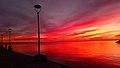 Ηλιοβασίλεμα παραλίας Νικήτης Χαλκιδικής 3.jpg
