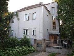 Будинок, в якому жив і працював письменник С.І. Панько 1.JPG