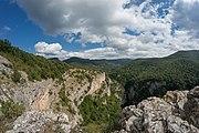 Вид на Большой каньон Крыма от Коровьего грота.jpg