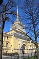 Главная башня Адмиралтейства. Санкт-Петербург. Май 2016 - panoramio.jpg