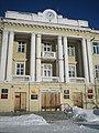 Гостиница «Центральная». Проспект Ленина, 62, Озерск, Челябинская область. Ризалит.jpg