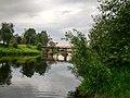 Олонец, Алексеевский мост (через Олонку на о.Мариам), вид 1.jpg