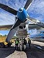 Правый двигатель самолета Ан-26Б-100 RA-26133.jpg