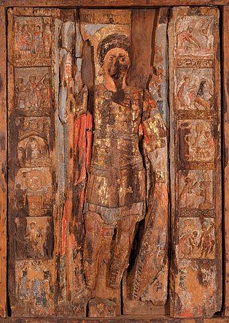 National Art Museum of Ukraine - Image: Св.Георгій в житії. ХІІ ст