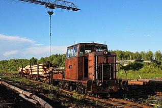 Lundanskaya narrow gauge railway