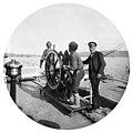 Фотопленки Поля Надара (1890). Пароход Баку — Узун-Ада. 8. Рулевой на посту.jpg