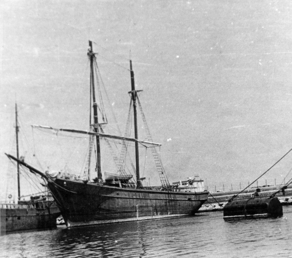 פלים ספינות המעפילים א - צי הצללים - כתריאל יופה (מימין) ו-יגור-151878