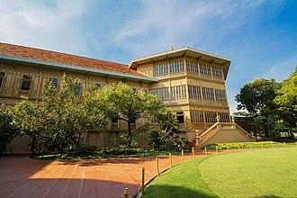 Vimanmek Mansion - Image: พระที่นั่งวิมานเมฆ