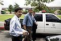 ภาพถ่ายเบื้องหลัง การบันทึกเทป โครงการ ไทยเข้มแข็ง (The Official Site of The Prim - Flickr - Abhisit Vejjajiva (56).jpg