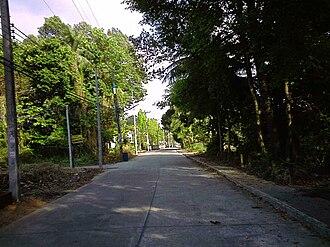 Chanthaburi Province - Quiet street, Amphoe Laem Sing
