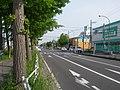 北海道道100号函館上磯線・北海道道1132号函館臨空工業団地線交点-1(起点側から).jpg