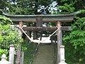 城山八幡神社(守山城本丸跡) - panoramio.jpg