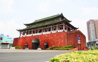 Guancheng Subdistrict - Ying'en Gate in Guancheng Subdistrict