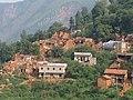 鲁甸地震中受灾严重的村庄.jpg