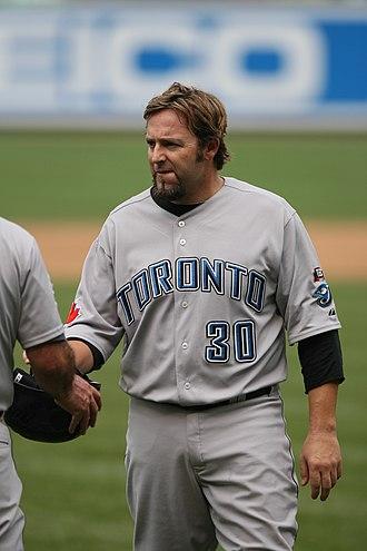 Kevin Millar - Millar with the Toronto Blue Jays