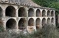 045 Cementiri abandonat de Marmellar, rere l'església, nínxols.JPG