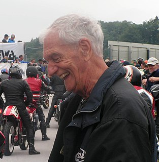 Jim Redman Rhodesian motorcycle racer