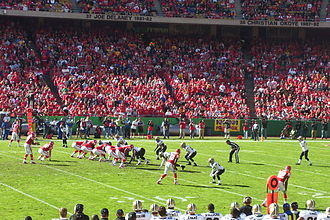 2008 Kansas City Chiefs season - Image: 081116Saints Chiefs 02