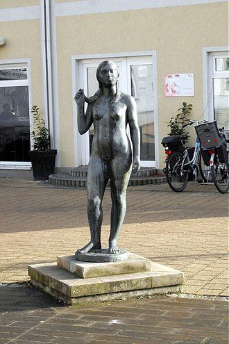 Oschersleben - Image: 1 Oschersleben statue