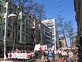 1. Mai 2013 in Hannover. Gute Arbeit. Sichere Rente. Soziales Europa. Umzug vom Freizeitheim Linden zum Klagesmarkt. Menschen und Aktivitäten (041).jpg