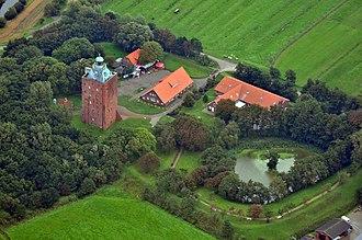 Great Tower Neuwerk - Image: 11 09 04 fotoflug nordsee by Ralf R 036