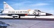 11th Fighter-Interceptor Squadron F-102 56-1500 Duluth IAP