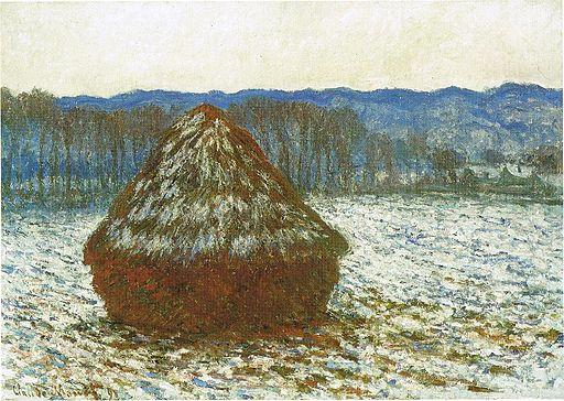 1283 Wheatstack, 1890-91, 65.6 x 92 cm, 25 13-16 x 36 1-4 in., The Art Institute of Chicago