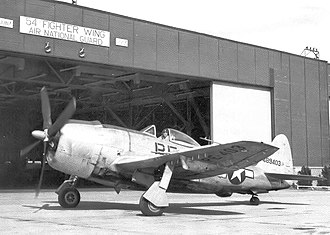 Cobb County, Georgia - F-47 Thunderbolt - 128th Fighter Squadron - Marietta Army Airfield, 1946