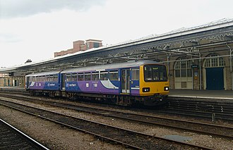 British Rail Class 144 - Image: 144001 SHF