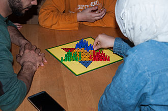 Chinese checkers - A three-player game