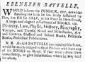 1783 EbenezerBattelle BostonEveningPost Sept13.png
