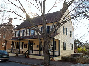 Salem Tavern - Image: 1815 Salem Tavern Old Salem NC Jan 2015