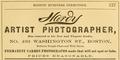 1879 Hardy photographer advert 493 Washington Street in Boston.png