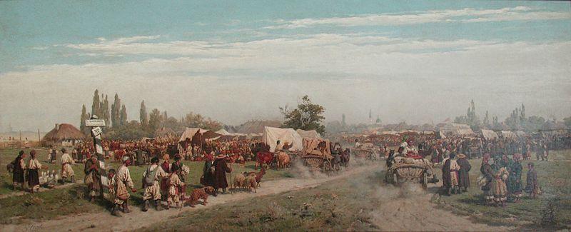 File:1882 Kivchenko Jahrmarkt Ukraine anagoria.JPG