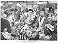 1888-01-08, La Ilustración Española y Americana, Tipos y costumbres de Madrid, En el tranvía, Méndez Bringa, Rico.jpg