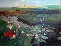 1897 Dettmann Bei den Wasserrosen im Moor anagoria.JPG