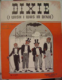 Sheet music cover, c. 1900