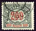 1904 Bosnia-H Taxe200heller Maglaj.jpg