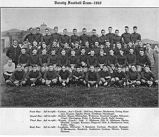 1918 Pittsburgh Panthers football team American college football season