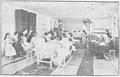 1920 - Mănăstirea Plătăreşti - Închisoarea - Atelier de ţesătorie.PNG
