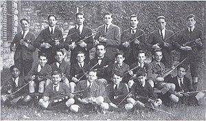 Christian Brothers' College, Perth - CBC Perth violin club, 1922.