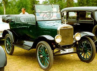 Touring car - 1924 Ford Model T touring car