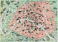 1932 Robelin Map of Paris, France w-Monuments - Geographicus - ParisMonumental-robelin-1932 cropped.jpg