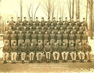 Officer Candidate School (United States Army) - Signal Corps Graduating Class, December 1942, Fort Monmouth.
